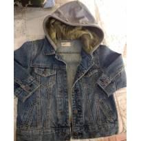 Jaqueta jeans GAP com capuz moletom - 3 anos - Baby Gap e GAP