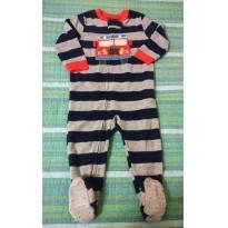 Macacão fleece Carter´s 18 meses - 18 meses - Carter`s