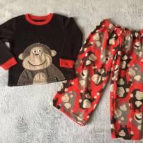 Pijama fleece Carter´s 4t - 4 anos - Carter`s
