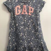 Vestido Floral GAP - 4 anos - GAP