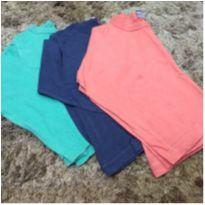 Trio camisetas manga longa - 2 anos - Kidstok