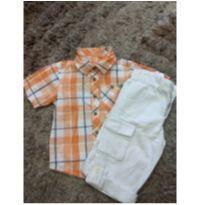 Conjunto camisa e bermudão - 2 anos - Milon e Pool Kids