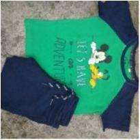 Conjuntinho camiseta e bermudinha - 3 anos - Disney