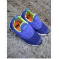 Tênis azul Fisoflex