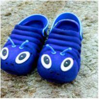 Babuche azul - 25 - Sem marca