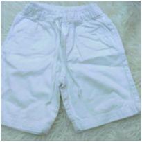 Bermuda branca infantil - 4 anos - Original