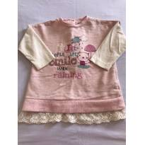 Blusa Chicco - 6 a 9 meses - Chicco