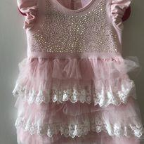 Vestido charmoso - 9 a 12 meses - Pituchinhus