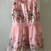 Vestido romântico - 18 a 24 meses - Marisol