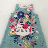 Vestido Gatinhoo - 2 anos - Mon Sucré