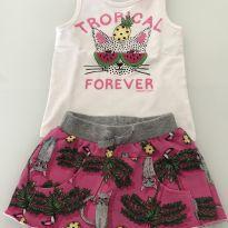 Conjunto Tropical - 2 anos - Momi