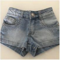 Shorts jeans gracioso - 1 ano - Color Mini