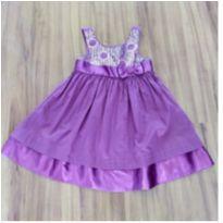 Vestido Alphabeo lilás - 1 ano - Alphabeto