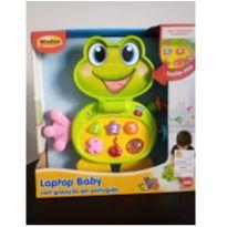 Laptop baby sapinho com sons e luzes winfun, novo! -  - Win Fun
