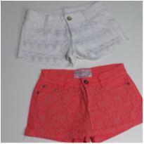 Shorts Fashion - 10 anos - Chicote e Pamela Can