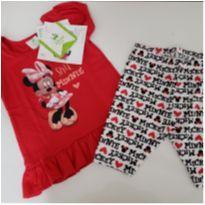 Conjunto Minnie - 6 meses - Brandili