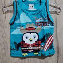 Camiseta regata - 3 a 6 meses - Elian