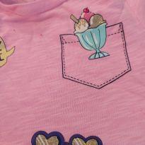 Camiseta rosa Carter`s - 3 anos - Carter`s