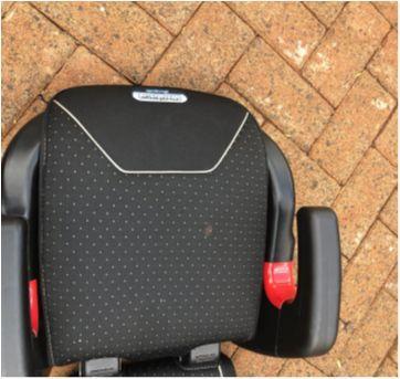 Assento/ Caderinha Booster com encosto - Sem faixa etaria - Burigotto