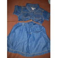 Vestido Jeans Early Days`t(Espanha) 6 meses - 6 a 9 meses - Early  Days