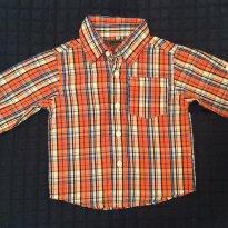 Camisa Xadrez DKNY - 1 ano - DKNY