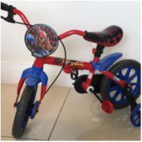 Bicicleta Homem Aranha -  - Caloi aro 12