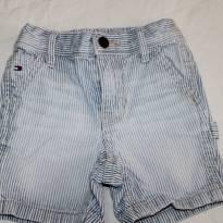 Shorts Jeans Listradinho Tommy - 1 ano - Tommy Hilfiger