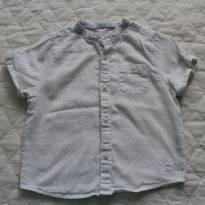 Camisa Bata de Bolinha