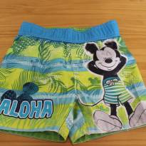 Shorts Tactel Mickey Praiano - 2 anos - Disney
