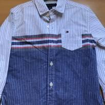 Camisa Listrada Tommy - 2 anos - Tommy Hilfiger