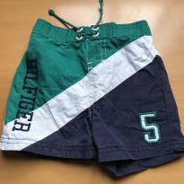 Shorts Tactel Tommy - 6 a 9 meses - Tommy Hilfiger