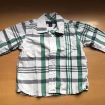 Camisa Xadrez Bebê - 6 a 9 meses - Tommy Hilfiger