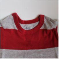 Camiseta Listrada Gap - 3 anos - GAP e Baby Gap