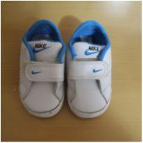 Tênis Nike Couro Bebê - 18 - Nike
