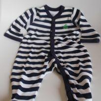 Macacão Listras Barquinho - Recém Nascido - Sterling Baby