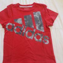 Camiseta Adidas Vermelha - 3 anos - Adidas