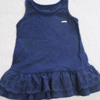 Vestido Regata Azul - 9 a 12 meses - Marisol