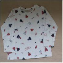 Camiseta Manga Longa Cool Ice - 3 anos - Zara e Zara Baby