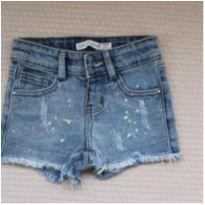 Shorts Jeans Candy Colors - 6 a 9 meses - Lilica Ripilica
