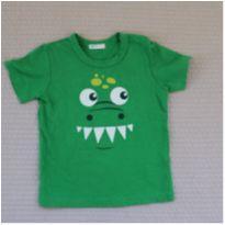 Camiseta Monstrinho - 3 meses - Benetton Baby