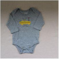 Body Manga Longa New York Taxi - 0 a 3 meses - Baby Gap e GAP