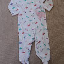 Macacão Dino Coloridinho - 9 meses - Carter`s