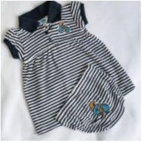 Vestido Creative Knitwear, 0-3 meses - 0 a 3 meses - Não informada