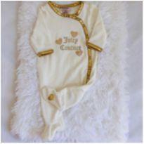 Macacão plush importado Juicy Couture - 0 a 3 meses - Juicy Couture