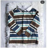 Camisa manga longa Gymboree, 4 anos - 4 anos - Gymboree
