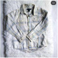 Camisa Tommy Hilfiger, toda forrada por dentro, 4 anos - 4 anos - Tommy Hilfiger
