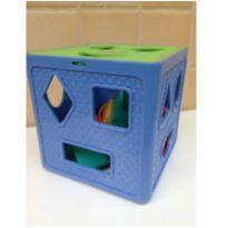Cubo com blocos de encaixe -  - Playskool