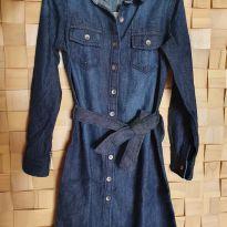 Vestido Jeans - 7 anos - GAP