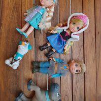 Conjunto de bonecas frozen