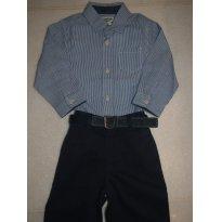 Calça Social Azul Marinho - Ralph Lauren - 1 ano - Ralph Lauren